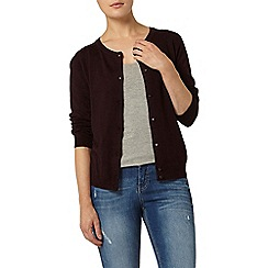 Dorothy Perkins - Berry viscose cardigan