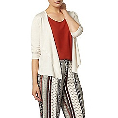 Dorothy Perkins - Ivory short edge to edge cardigan