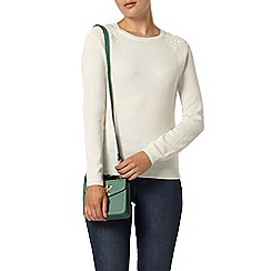 Dorothy Perkins - Ivory lace shoulder jumper