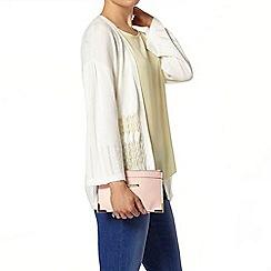 Dorothy Perkins - Ivory pointelle kimono