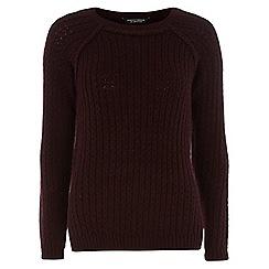 Dorothy Perkins - Knitted purple jumper