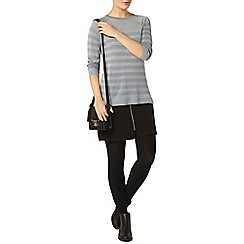 Dorothy Perkins - Sea green sparkle stripe jumper