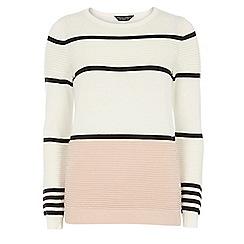 Dorothy Perkins - Colour block stripe jumper