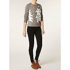 Dorothy Perkins - Tall grey polar jumper