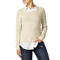 Dorothy Perkins - Oat shirt 2 in 1 jumper