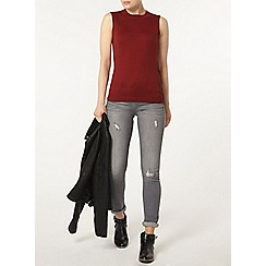 Dorothy Perkins - Rust tie back tank top