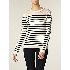 Dorothy Perkins - Tall stripe pointelle jumper