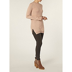 Dorothy Perkins - Nude button cuff jumper
