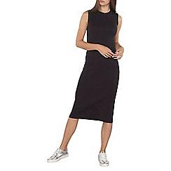 Dorothy Perkins - Tall navy split back midi dress