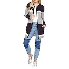 Dorothy Perkins - Navy colour block coatigan