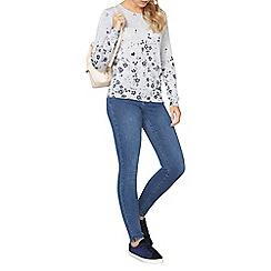 Dorothy Perkins - Grey floral print jumper