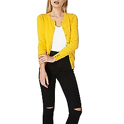 Dorothy Perkins - Yellow cotton cardigan