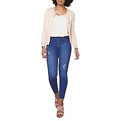 Dorothy Perkins - Nude cotton cardigan