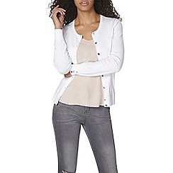 Dorothy Perkins - White cotton cardigan