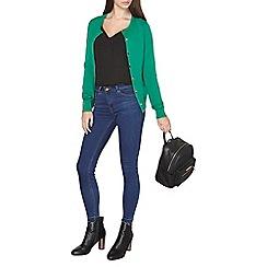 Dorothy Perkins - Tall green cotton cardigan