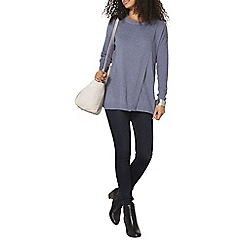Dorothy Perkins - Denim wrap front jumper