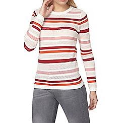 Dorothy Perkins - Pointelle stripe jumper