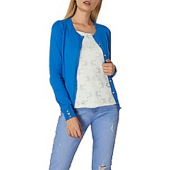 Dorothy Perkins - Blue cotton cardigan