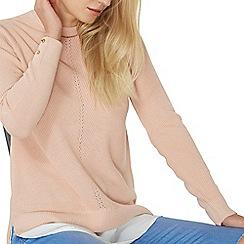 Dorothy Perkins - Pink chiffon hem 2-in-1 jumper
