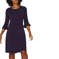 Dorothy Perkins - Purple flute sleeves shift dress