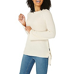 Dorothy Perkins - Ivory tie side jumper