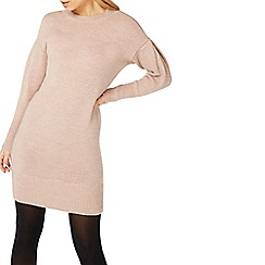Dorothy Perkins - Blush knitted tunic jumper