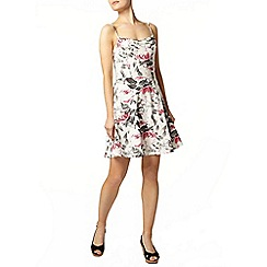Dorothy Perkins - Ivory rose camisole dress