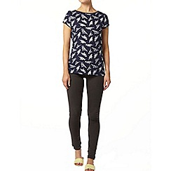 Dorothy Perkins - Navy bird print t-shirt