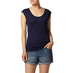Dorothy Perkins - Navy scoop tank top