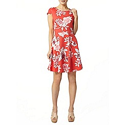 Dorothy Perkins - Floral bow back dress
