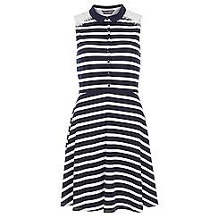 Dorothy Perkins - Tall stripe lace insert dress