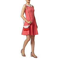 Dorothy Perkins - Watermelon lace collar dress