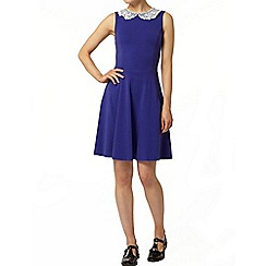 Dorothy Perkins - Ultramarine lace collar dress