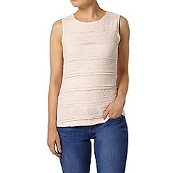 Dorothy Perkins - Blush frill lace shell top