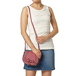 Dorothy Perkins - Ivory frill lace shell top