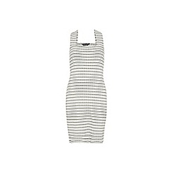 Dorothy Perkins - Tall stripe pinny dress