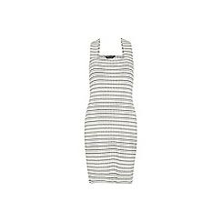 Dorothy Perkins - Tall stripe pinny dress