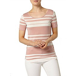 Dorothy Perkins - Rose stripe t-shirt