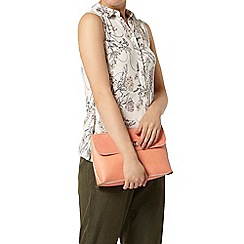Dorothy Perkins - Floral sleeveless jersey shirt