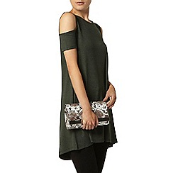 Dorothy Perkins - Cold shoulder tunic