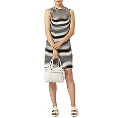 Dorothy Perkins - Chocolate stripe dress