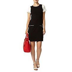 Dorothy Perkins - Black pocket shift dress