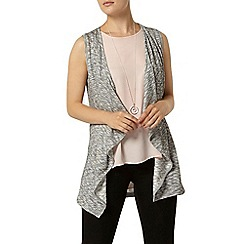 Dorothy Perkins - Silver waterfall cardigan
