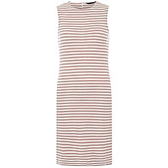 Dorothy Perkins - Talltextured stripe dress