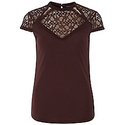 Dorothy Perkins - Tall victoriana high neck top