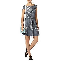 Dorothy Perkins - Floral tile bow back dress
