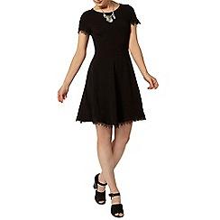 Dorothy Perkins - Back lace trim dress