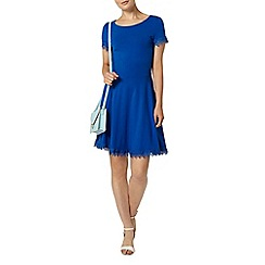 Dorothy Perkins - Blue lace trim dress