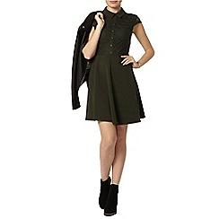 Dorothy Perkins - Sleeveless lace shirt dress