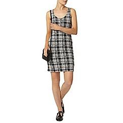Dorothy Perkins - Check zip shift dress